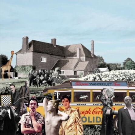 Peter Blake, 'Elvis visits Farley Farm', 2019