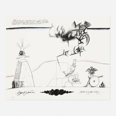 Saul Steinberg, 'Sam's Art (from the New York International portfolio)', 1966