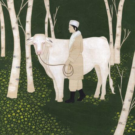 Emily Pettigrew, 'Fool and the Birch Tree', 2013