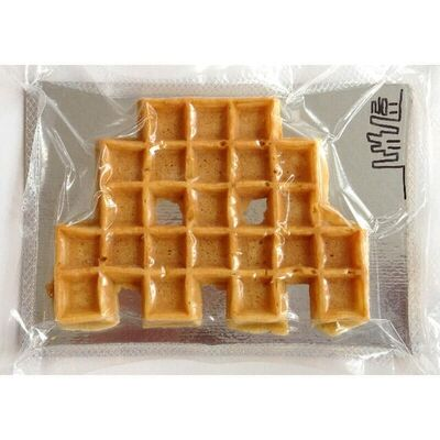 Invader, 'Space Waffle', 2011