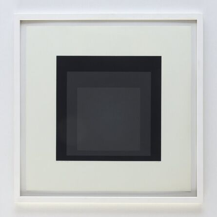 Josef Albers, 'homage to the square', 1970