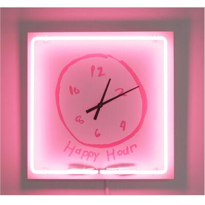 Rachel Lee Hovnanian, 'Happy Hour Clock', 2018