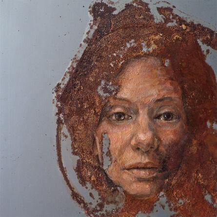 Sabatino Cersosimo, 'Experiment auf Stahl XXVIII', 2014