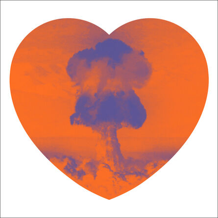 Iain Cadby, 'Love Bomb (Orange and Purple)', 2019