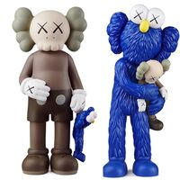 KAWS, 'KAWS SHARE & KAWS TAKE (set of 2 KAWS companions)', 2020