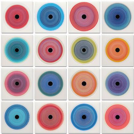 Christopher H. Martin, 'Chroma Prismatic Rings III', 2016