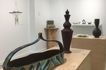 Working Pots III, Annual Juried Utilitarian Ceramics Exhibition & works by Janelle Gramling