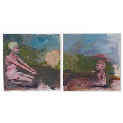 Ani Garabedian, 'Beaches (diptych)', 2020