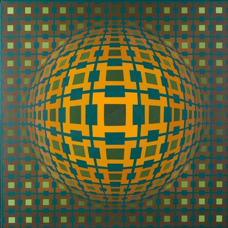 Victor Vasarely, 'Dombriel II', 1973