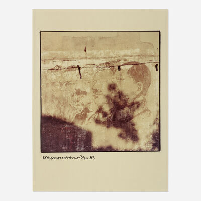 Robert Rauschenberg, 'Studies for a Chinese Summerhall (Profiles on a Wall)', 1983