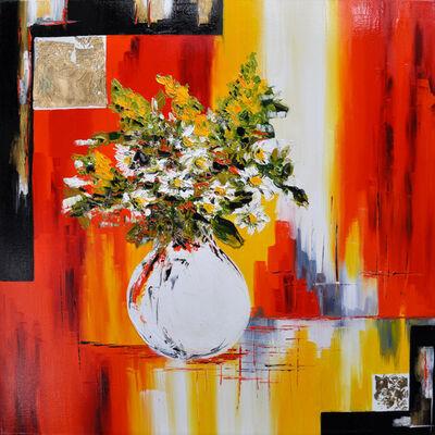 Corinne Vilcaz, 'The bouquet of daisies', 2019