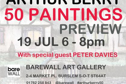 ARTHUR BERRY 50 Paintings