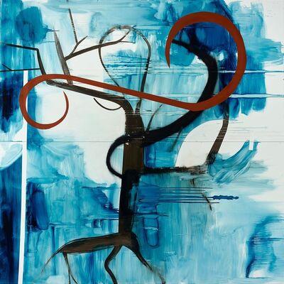 Albert Oehlen, 'Untitled (Baum 60)', 2015