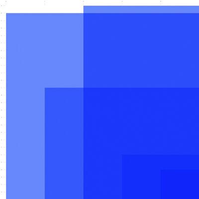 Detanico Lain, 'Quanta Cor, Bleu', 2016