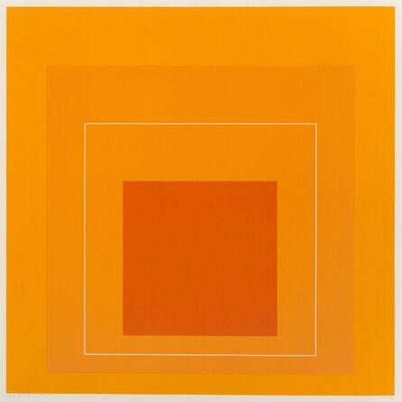 Josef Albers, 'White Line Square VI, from White Line Squares', 1966