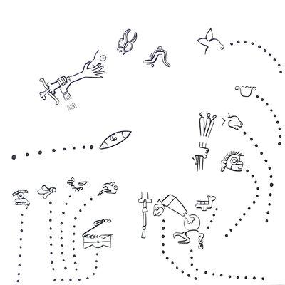 Mariana Castillo Deball, 'Cada parte de mi cuerpo se despide, cumple una función distinta', 2011