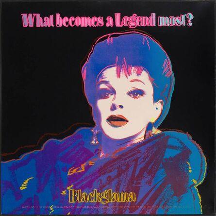 Andy Warhol, 'BLACKGLAMA (JUDY GARLAND) (F./S. II.351)', 1985