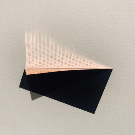 Constance DeJong (b. 1950), 'golden/grid 9', 2016