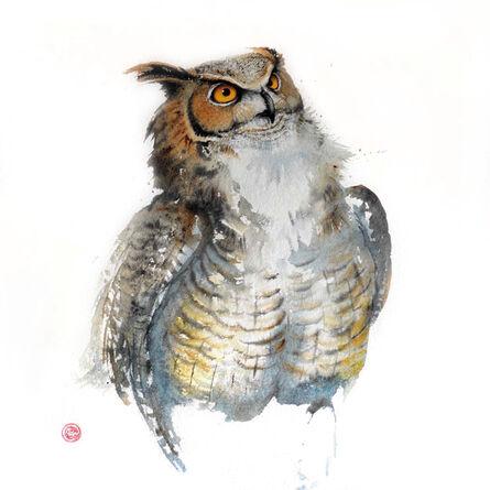 Karl Martens, 'Great Horned Owl'