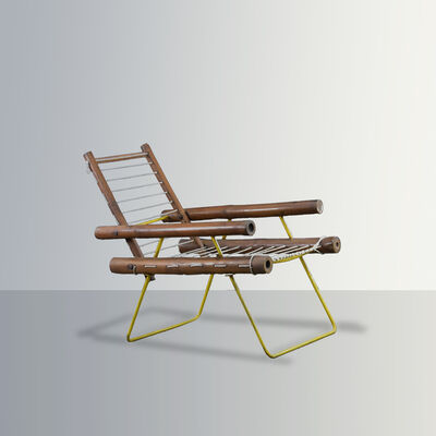 Pierre Jeanneret, 'PJ-SI-04-A, early prototype of an easy chair', ca. 1953-1954