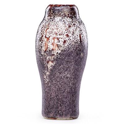 Ernest Chaplet, 'Fine Volcanic Oxblood Vase, France', Late 19th C.