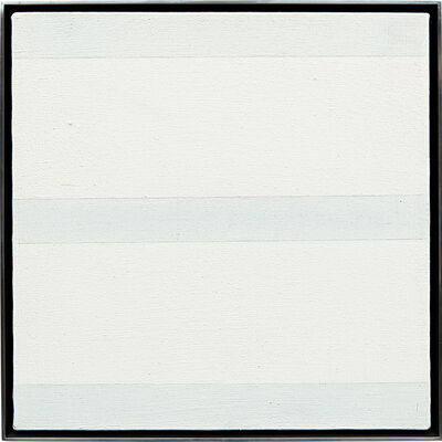 Agnes Martin, 'Untitled', ca. 1995.