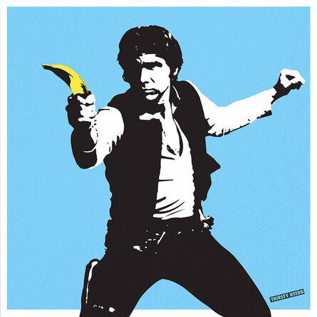Thirsty Bstrd, 'Han Solo Banana Gun', 2017