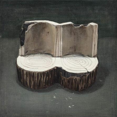 Xiao Zheluo 肖喆洛, 'Twin Trunks', 2011