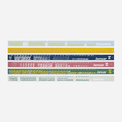 Nick Roericht, 'collection of twenty calendars', 1983-1995