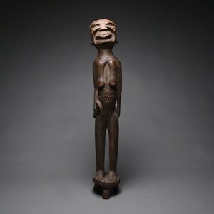 Unknown African, 'Makonde Wooden Sculpture of a Woman', 20th century A.D.