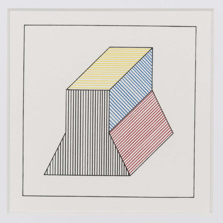 Sol LeWitt, 'Twelve forms derived from a cube (1)', 1984
