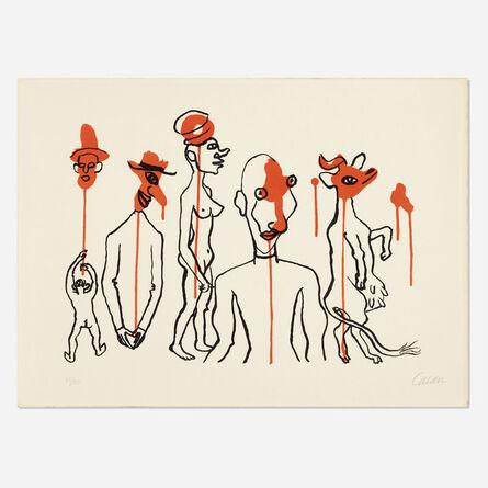 Alexander Calder, 'Circus 4, Les Gueules Dégoulinantes (from Derrière le Miroir No. 156)', 1966