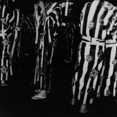 Toshio Enomoto, '058 - Gion-bayashi music offering parade at Gion Festival', 1992