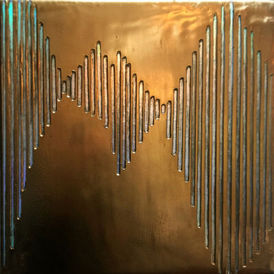 Sylvia Hommert, 'Frequencies /Gold', 2017