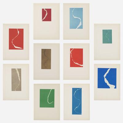 Leon Polk Smith, 'Torn Drawings portfolio', 1965