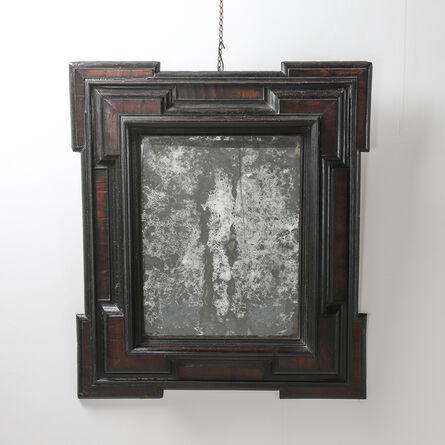 N/A, '17th Century Dutch Baroque Walnut and Ebonized Mirror', ca. 17th