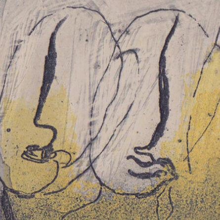 """Jean Fautrier, '""""Quatre visages""""', 1941"""