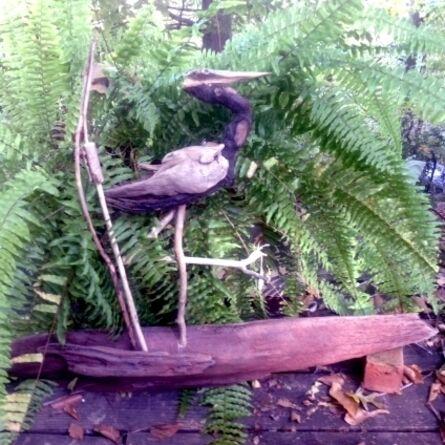 Larry Ringgold, 'Heron'