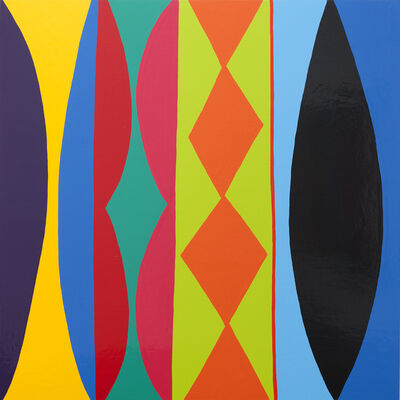 Kim MacConnel, '21 Rabbit', 2011