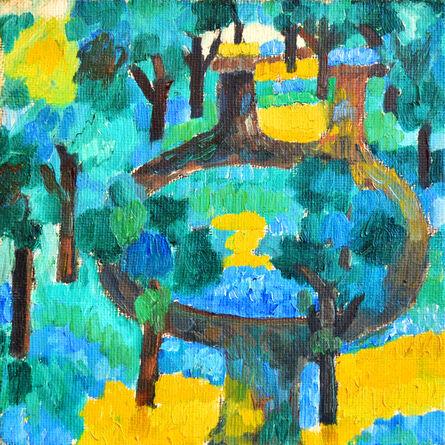 Jan Müller (1922-1958), 'Spinning Path I', 1956