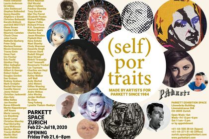 (SELF) PORTRAITS Portraits & Self-Portraits made by Artists for Parkett since 1984