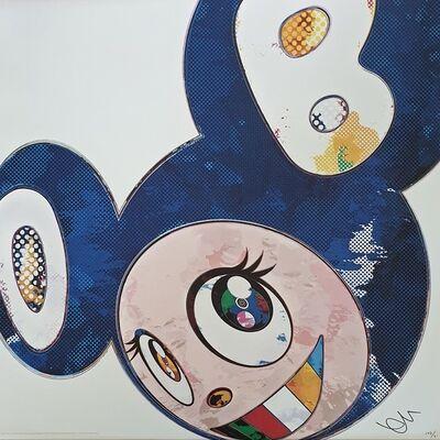 Takashi Murakami, 'And Then x 727 (Ultramarine :GUNJO)', 2013