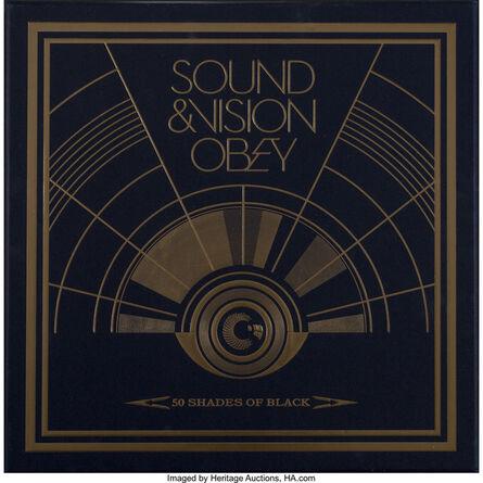 Shepard Fairey, 'Sound & Vision Obey: 50 Shades of Black, box set', 2014