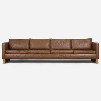 Ludwig Mies van der Rohe, 'Custom Leather Sofa', ca. 1970