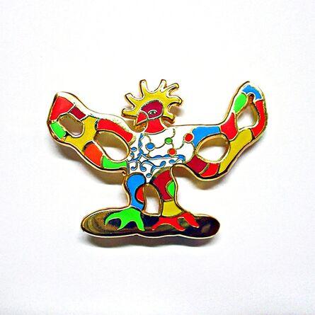 Niki de Saint Phalle, 'Brooch (Oiseau)', ca. 2005