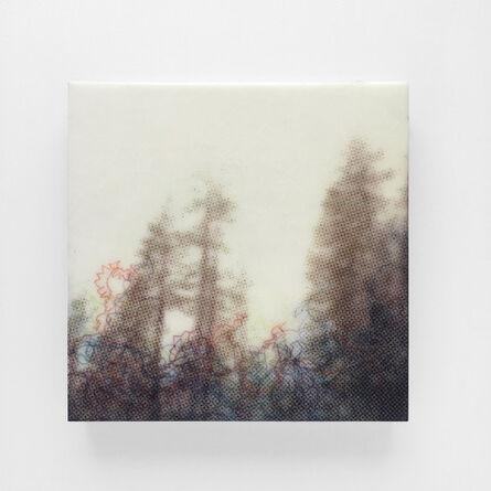 Karen Gallagher Iverson, 'Crest From Below, Tahoe Tree Line 4', 2017