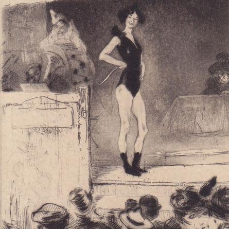"Edgar Chahine, '""L'Invite après la parade (T.97)""', 1902"
