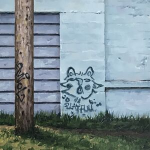 Stephanie Buer, 'Blue Cat', 2020