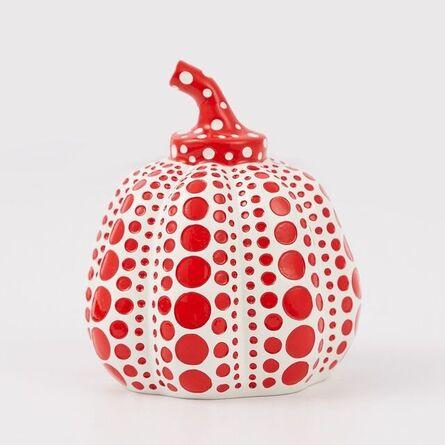 Yayoi Kusama, 'Resin Pumpkin Red and white', 2015