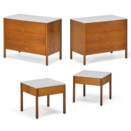 Florence Knoll, 'Pair Of Dressers And Nightstands, New York', 1960s